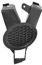 Grille de ventilation, pare-chocs - VAN WEZEL - 3388596