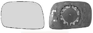 Verre de rétroviseur, rétroviseur extérieur - VAN WEZEL - 3701836