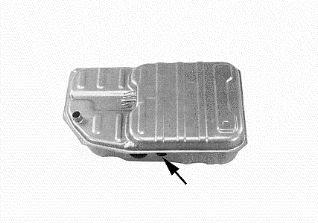 Réservoir de carburant - VAN WEZEL - 3712083