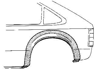 Panneau latéral - VAN WEZEL - 5321145