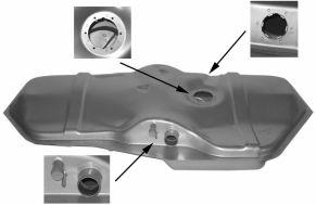 Réservoir de carburant - VAN WEZEL - 3730084