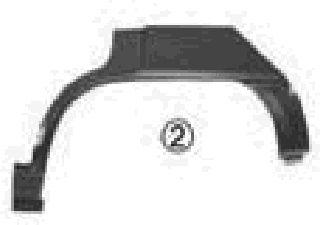 Panneau latéral - VAN WEZEL - 3730144
