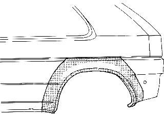 Panneau latéral - VAN WEZEL - 3742146