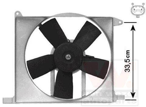 Ventilateur, refroidissement du moteur - VWA - 88VWA3734746
