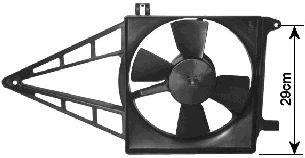 Ventilateur, refroidissement du moteur - VAN WEZEL - 3734747
