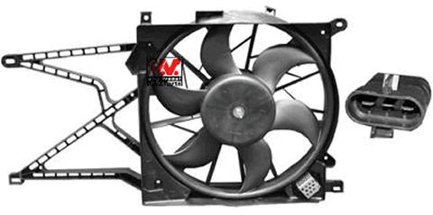 Ventilateur, refroidissement du moteur - VAN WEZEL - 3742747