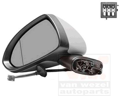 Rétroviseur extérieur - VAN WEZEL - 3750805