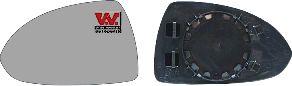 Verre de rétroviseur, rétroviseur extérieur - VAN WEZEL - 3750835