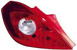 Feu arrière - VAN WEZEL - 3750931
