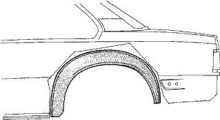 Panneau latéral - VWA - 88VWA3766346