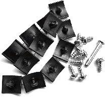 Kit d'assemblage, capot-moteur - VAN WEZEL - 3768797
