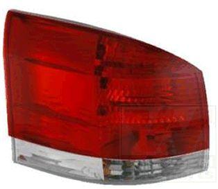 Feu arrière - VAN WEZEL - 3768928U