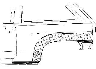 Panneau latéral - VAN WEZEL - 3776146