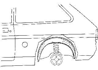 Passage de roue - VAN WEZEL - 3770445