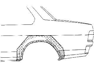 Panneau latéral - VAN WEZEL - 3771146