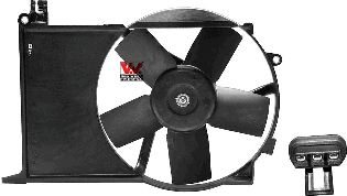 Ventilateur, refroidissement du moteur - VAN WEZEL - 3776749
