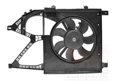 Ventilateur, refroidissement du moteur - VAN WEZEL - 3777747