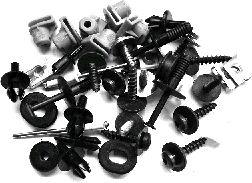Kit d'assemblage, pare-chocs - VAN WEZEL - 3777794