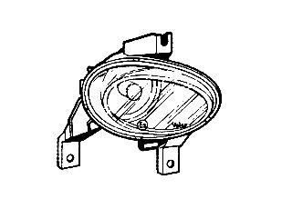 Projecteur antibrouillard - VAN WEZEL - 3778998