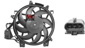 Ventilateur, condenseur de climatisation - VAN WEZEL - 3779750