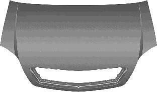 Capot-moteur - VAN WEZEL - 3781660