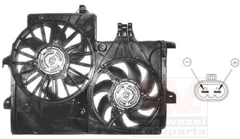 Ventilateur, refroidissement du moteur - VWA - 88VWA3781749