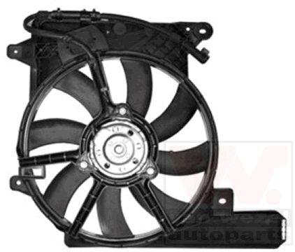 Ventilateur, refroidissement du moteur - VAN WEZEL - 3781750