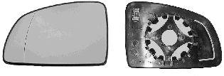 Verre de rétroviseur, rétroviseur extérieur - VAN WEZEL - 3781837