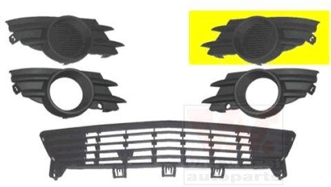Grille de ventilation, pare-chocs - VAN WEZEL - 3782591