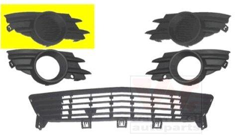 Grille de ventilation, pare-chocs - VAN WEZEL - 3782592