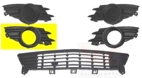 Grille de ventilation, pare-chocs - VAN WEZEL - 3782594