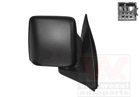 Rétroviseur extérieur - VAN WEZEL - 3789808