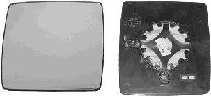 Verre de rétroviseur, rétroviseur extérieur - VAN WEZEL - 3789838