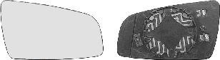 Verre de rétroviseur, rétroviseur extérieur - VAN WEZEL - 3792838