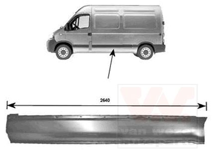 Panneau latéral - VWA - 88VWA3798143