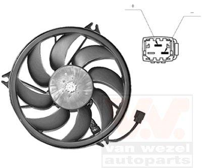 Ventilateur, refroidissement du moteur - VWA - 88VWA4028747