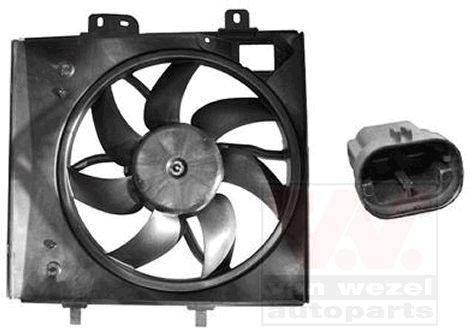 Ventilateur, refroidissement du moteur - VAN WEZEL - 4029746
