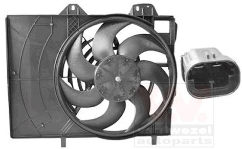 Ventilateur, refroidissement du moteur - VAN WEZEL - 4029748