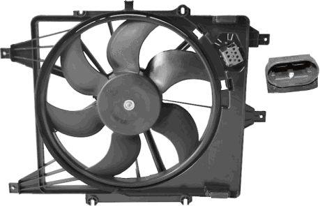 Ventilateur, refroidissement du moteur - VAN WEZEL - 4339746