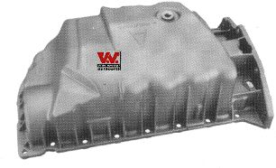 Carter d'huile - VAN WEZEL - 4341071