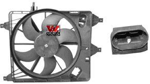 Ventilateur, refroidissement du moteur - VAN WEZEL - 4341747