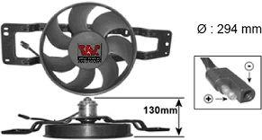 Ventilateur, refroidissement du moteur - VAN WEZEL - 4342747