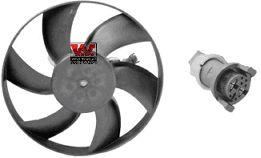 Ventilateur, refroidissement du moteur - VAN WEZEL - 4913745