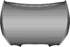 Capot-moteur - VAN WEZEL - 4939660