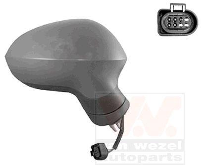 Rétroviseur extérieur - VAN WEZEL - 4940808