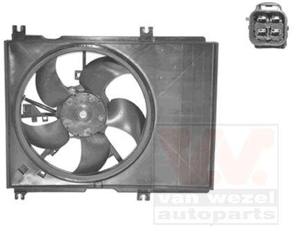 Ventilateur, refroidissement du moteur - VAN WEZEL - 5223747