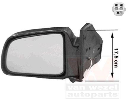 Rétroviseur extérieur - VAN WEZEL - 5245805