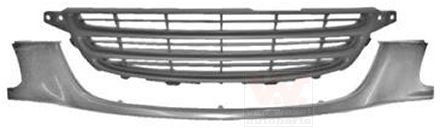 Grille de radiateur - VAN WEZEL - 5304510
