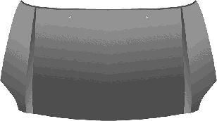 Capot-moteur - VAN WEZEL - 5307660