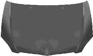 Capot-moteur - VAN WEZEL - 5393660
